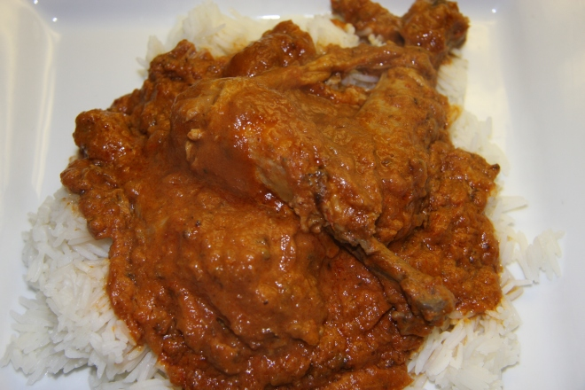 Butter Chicken, Lazagne 010
