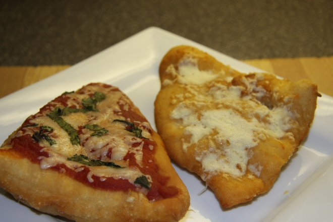 Pizza Fritters, Chicken and Corn Soup 001