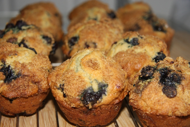 Blueberry Muffins 011
