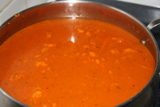 Tomato Soup And Pie Crust 009