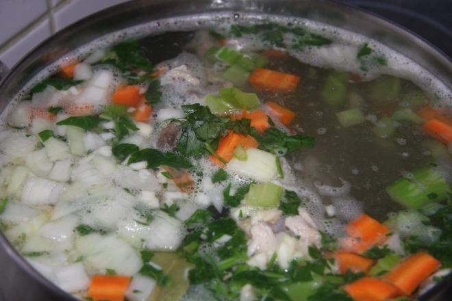 Turkey And Lentil Soup 003