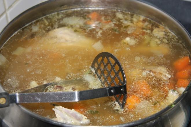 Turkey And Lentil Soup 007