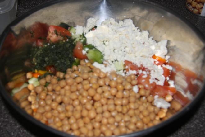 Chickpea Salad 002