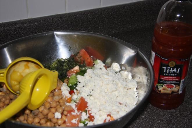 Chickpea Salad 003