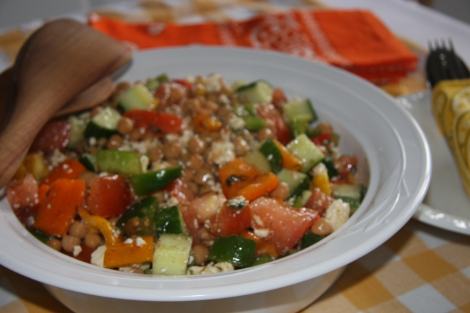 Chickpea Salad 006