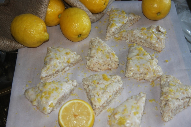 Deviled Eggs And Lemon Coconut Scones 026