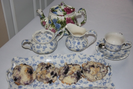 Lemon Blueberry Scones 009