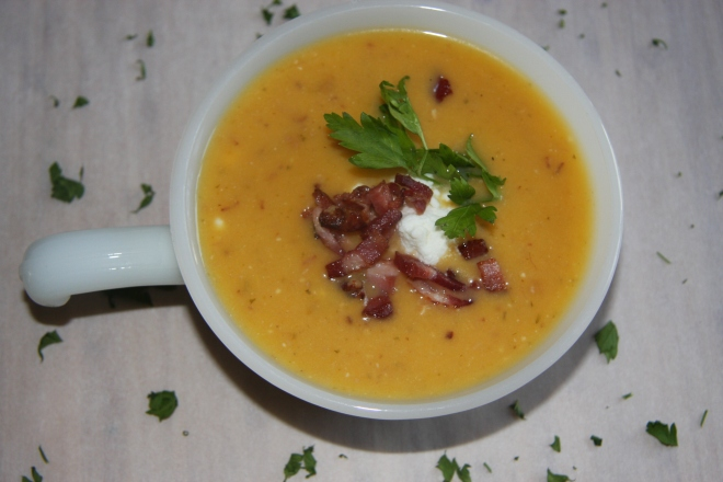 Roasted Butternut Squash Soup 022