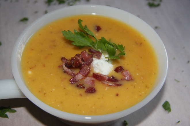 Roasted Butternut Squash Soup 023