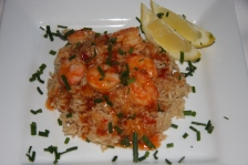Sweet Chili Shrimp and Rice 007