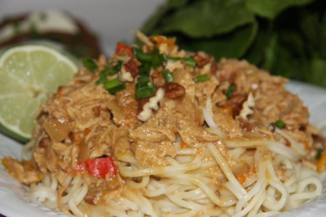 Sweet Chili Shrimp and Rice 017