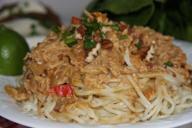 Sweet Chili Shrimp and Rice 018