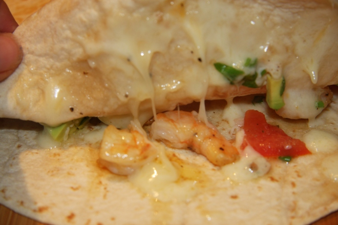 Shrimp Quesadillas - 2 007