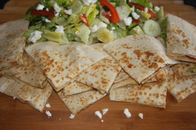 Shrimp Quesadillas - 2 008