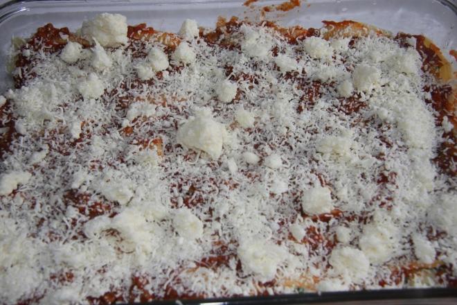 Stuffed Pasta Shells, Cherry Pineapple Crumble 019
