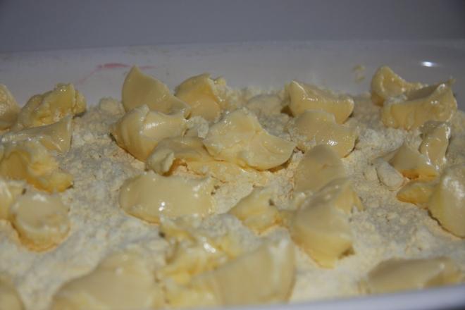 Stuffed Pasta Shells, Cherry Pineapple Crumble 023