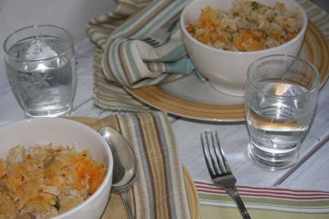 Chicken And Rice Casserole, Anytime Salad 019