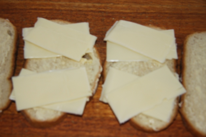 Ham, Salami And Cheese Panini 003