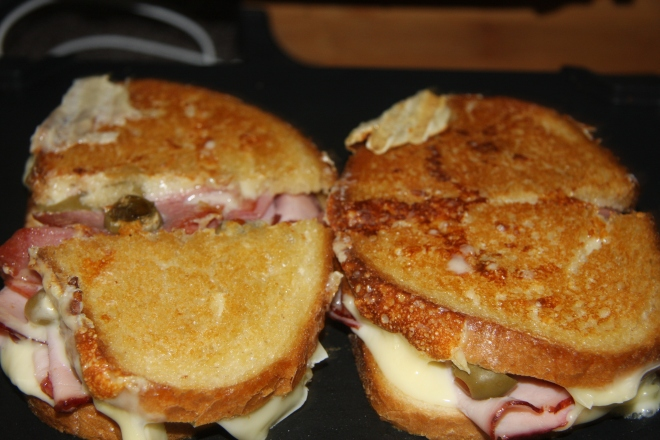 Ham, Salami And Cheese Panini 010