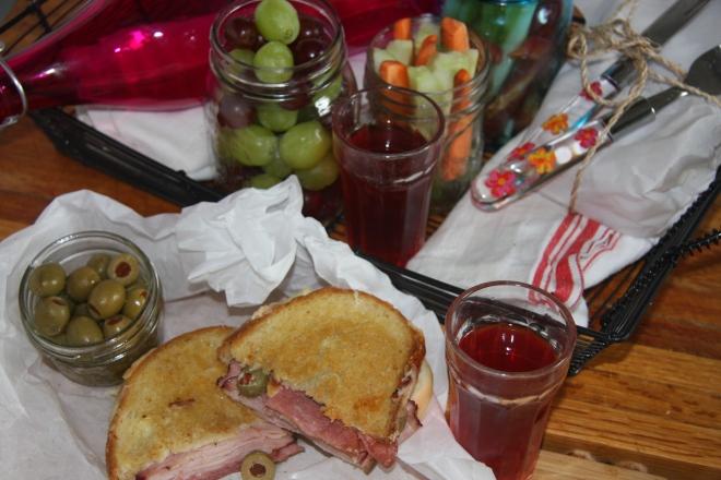 Ham, Salami And Cheese Panini 027