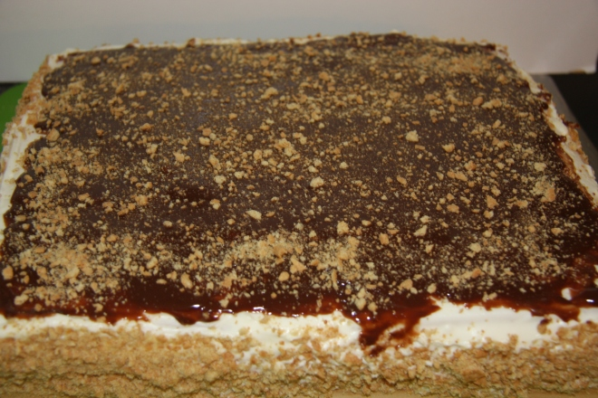 No Bake Graham Cracker Cake 034