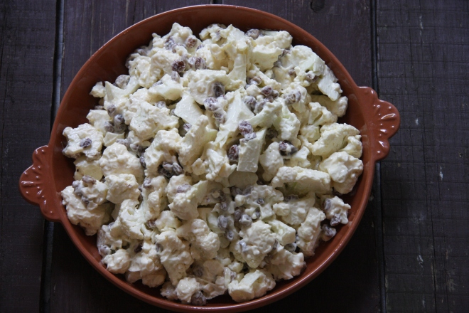 Cauliflower Salad 004