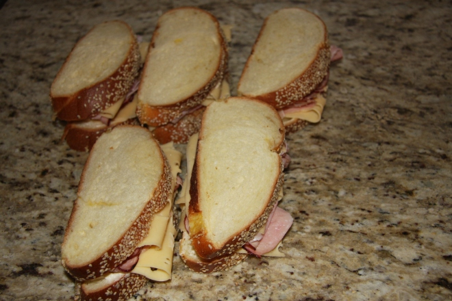 Monte Cristo Sandwiches, Iced Coffee, Daves Stuff 004