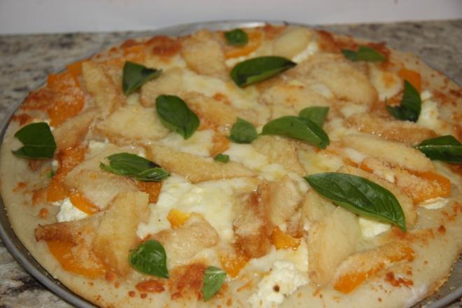 Peach Apricot Pizza 011