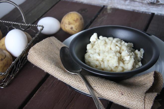 Halusky, Potato And Egg Skillet 020
