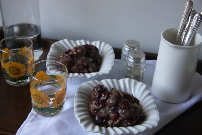 Cranberry Meatballs, Meatball Barley Soup, Garage Sale Stiff 033