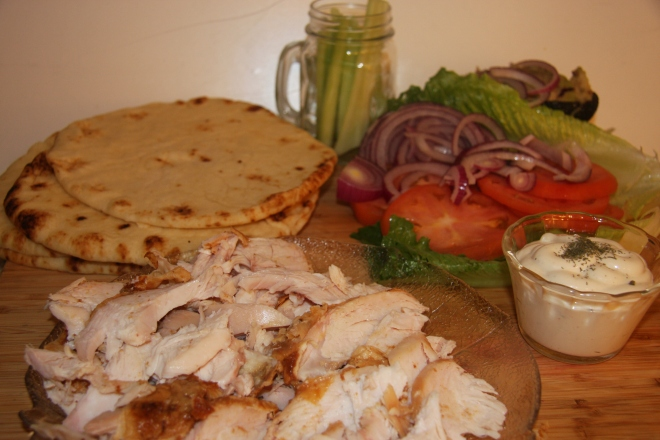 Chicken In A Pita 003