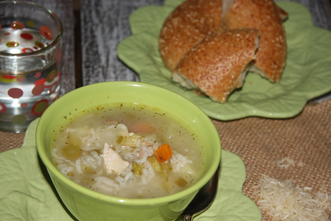 Chicken Soup With A Surprise 008