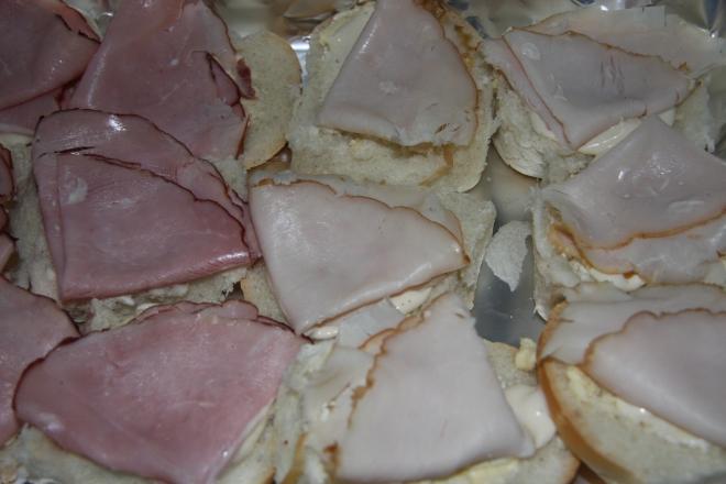 Turkey and Ham Sliders 002
