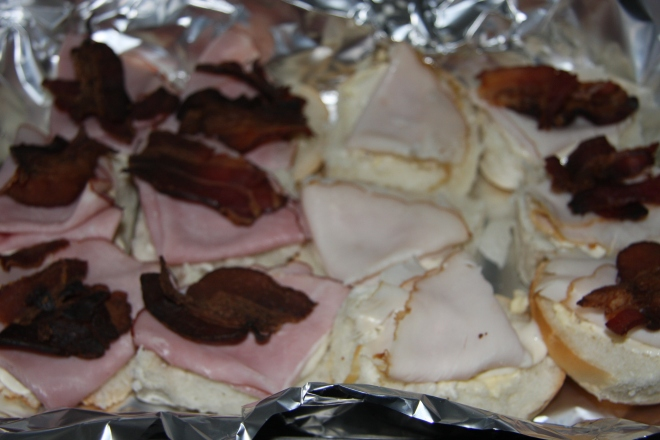 Turkey and Ham Sliders 003