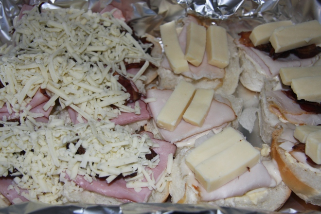 Turkey and Ham Sliders 004