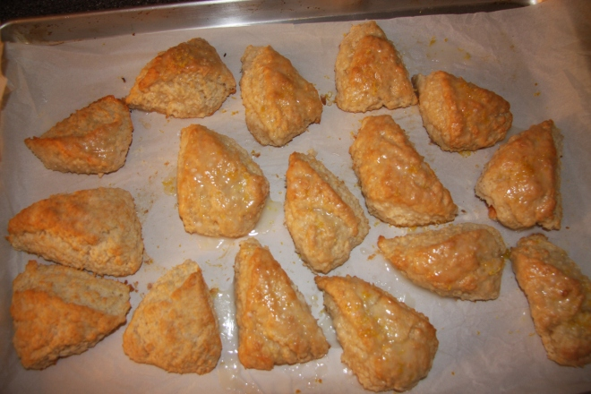 Lemon Coconut Scones 002